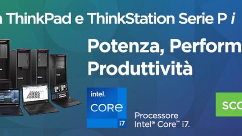 Workstation ThinkPad e ThinkStation Serie P i – Potenza, Performance e Produttività
